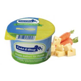 Cold & Dog Frozen Yogurt Kippenlever & Appel