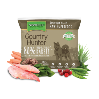 Natures Menu Dog Frozen Country Hunter Konijn