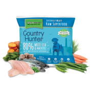 Natures Menu Dog Frozen Country Hunter Makreel & Witvis