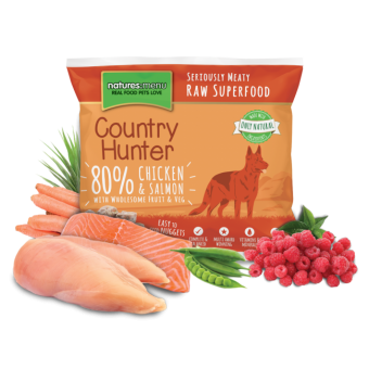Natures Menu Dog Frozen Country Hunter Kip & Zalm