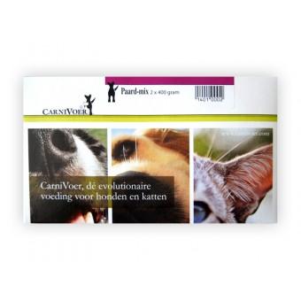 CarniVoer Hond paard mix