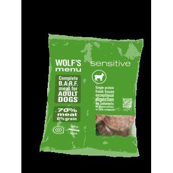 Wolf's Menu Sensitive
